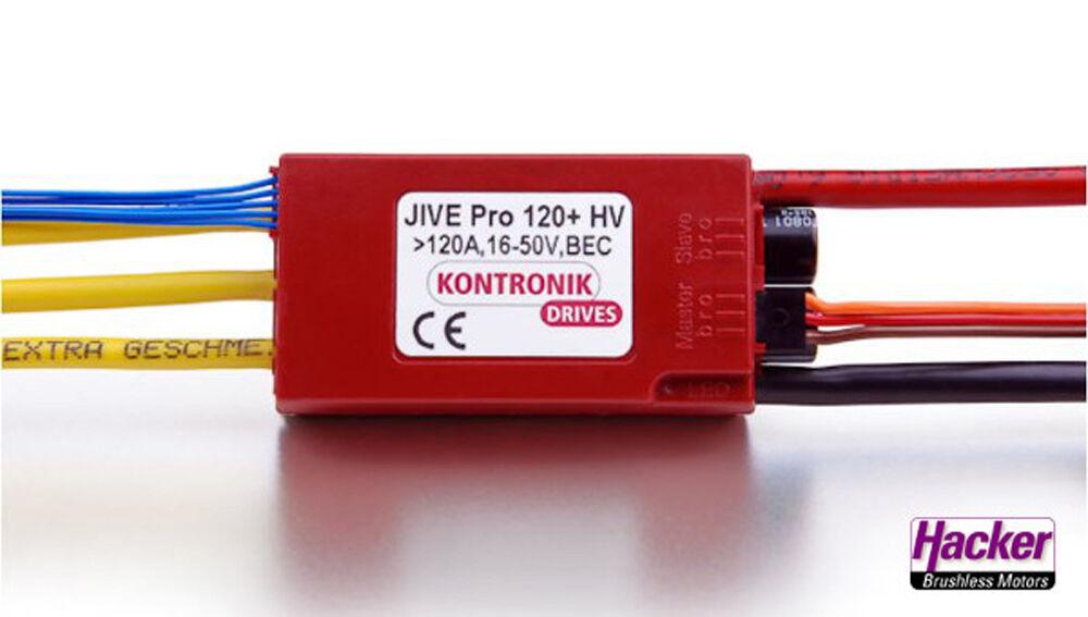 Kontronik Jive 120 y HV regulador con Bec hackers 35746350