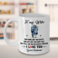 miniature 2 - To My Wife Coffee Mug Gift From Husband I Love You Queen Forever Anniversary Cup