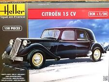Heller 1:24 Citroen 15 CV Car Model Kit