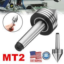 Mt2 Live Center Morse Taper Triple Bearing Lathe Centering Lathe Turning Tool