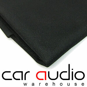 Connects2-CT64-01-Black-Acoustic-Car-amp-Home-HiFi-Speaker-Grille-Cloth-Cover