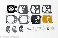 Carburetor Kit For Walbro K10-wat, Echo 123100-16330 (20 Pieces)