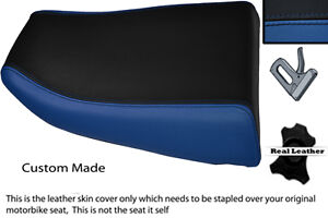BLUE-amp-BLACK-CUSTOM-FITS-KAWASAKI-NINJA-ZX6R-600-95-97-REAR-SEAT-COVER