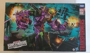 Transformers Earthrise Scorponok WFC War for Cybertron Siege Titan Class MISB