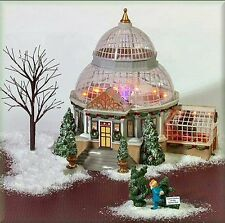 "DEPT 56 CHRISTMAS IN THE CITY "" CRYSTAL GARDENS CONSERVATORY "" # 59219 BNIB RARE"