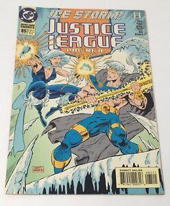 Justice-League-America-Ice-Storm-No-85-Comic-Book-DC-Comics-FEB-1994-VG