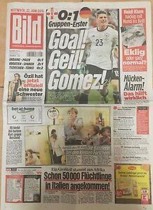 BILD-Zeitung-22-06-2016-DEUTSCHLAND-NORDIRLAND-1-0-Europameisterschaft-2016