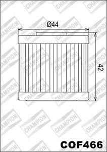 COF466-Filtro-De-Aceite-CHAMPION-Kymco-200i-Gente-GT-200-2010-11-2012-13-2014