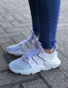84e23507c58 New  Adidas Prophere Women s Select-a-Size Shoes White Chalk Grey ...