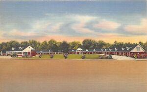 Macon-Georgia-1940-50s-Postcard-Magnolia-Court-Motel