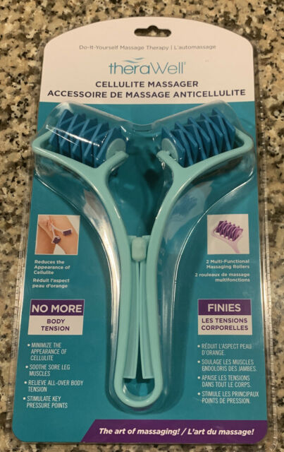 Teal Therawell DIY Cellulite Massager Therapy Tool