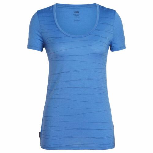 Icebreaker Tech Lite SS Scoop Graphic Collection Women Damen Merino-T-Shirt