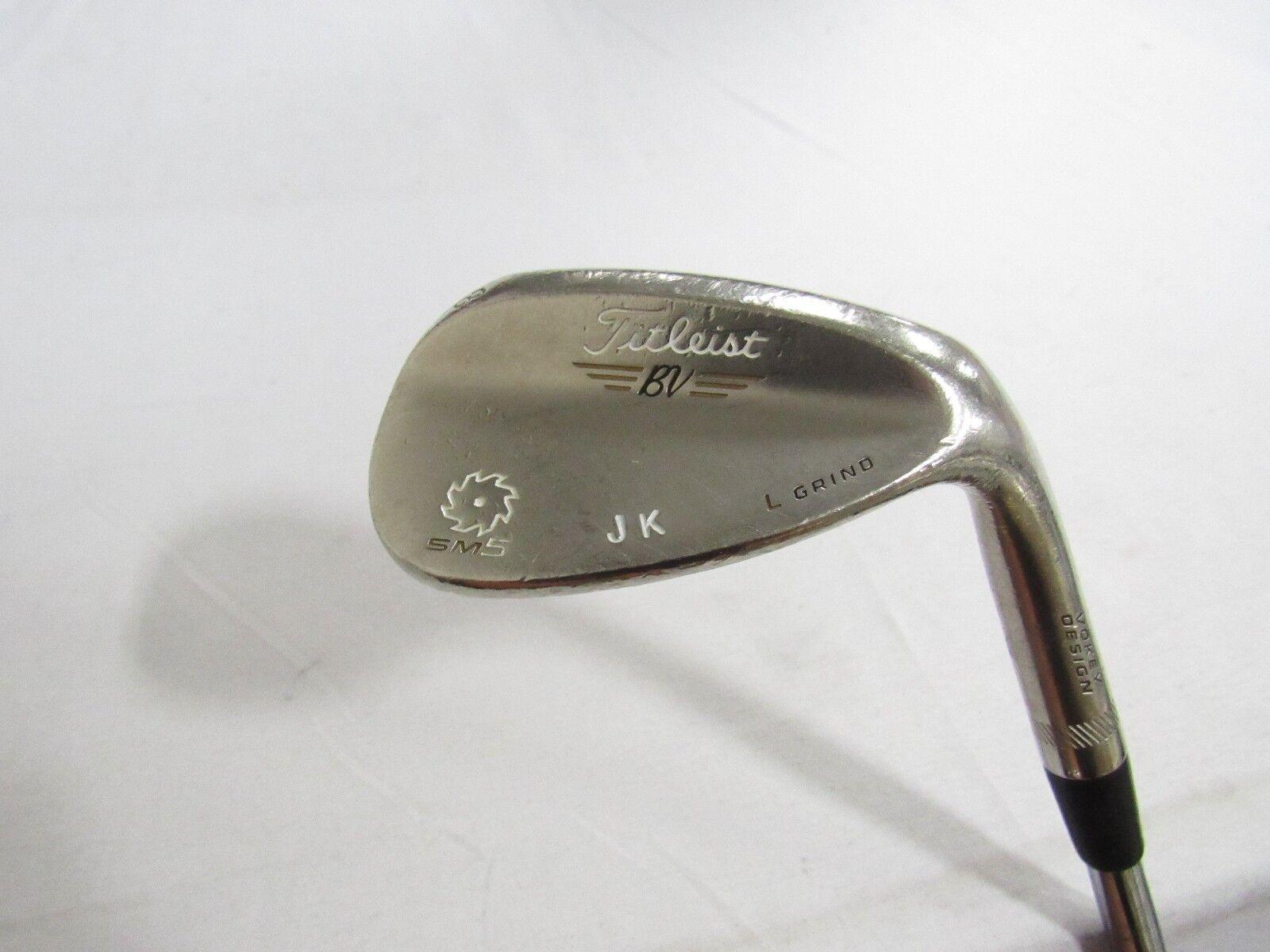 Titleist Vokey Cuña de Satén SM5 usado 58.04 SM-5 oro  Dinámico XP rígido de la flexión Usado  suministro directo de los fabricantes
