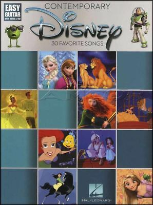 Contemporary Disney Easy Guitar Tab & Music Notation Book Lion King Mulan Sales Of Quality Assurance