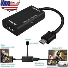 Micro USB MHL 2.0 HDMI 3D HDTV Adapter Cable for Samsung Galaxy Note 2 4 S5