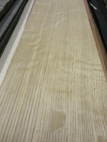 """White Oak Quartered Flake wood veneer 5/"""" x 96/"""" raw no back 1//42/"""" thickness A"""