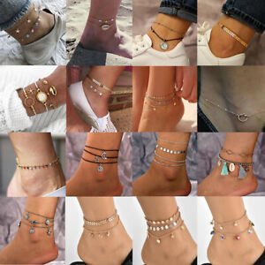 Charm-Boho-Ankle-Bracelet-Anklet-Chain-Foot-Beach-Sandal-Jewelry-Gift-For-Lady