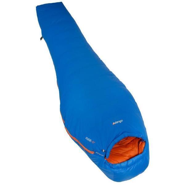 Vango Fusible de -6 ° C ligero solo saco de dormir-Resistente Al Agua-PVP  -