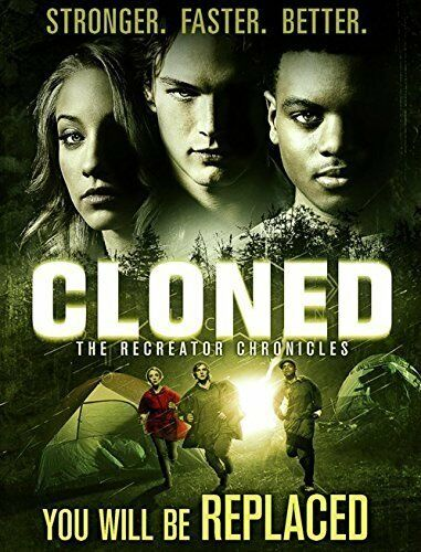 Cloned - The Recreator Chronicles (DVD, 2014) New Sealed slip case