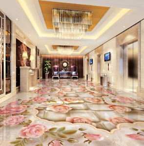 3D pink Vine Design  62 Floor WallPaper Murals Wall Print Decal AJ WALLPAPER