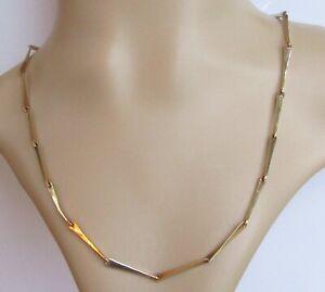 9ct Collar De Oro-Vintage de Belcher Cadena de oro amarillo de 9ct (19 Pulgadas)