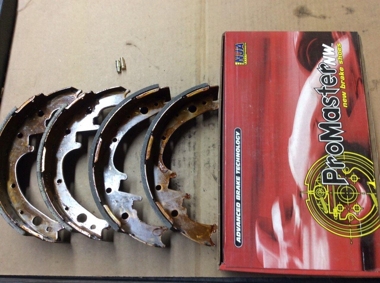 NB445 FRONT Bonded Drum Brake Shoe Fits 73-76 Dodge Dart