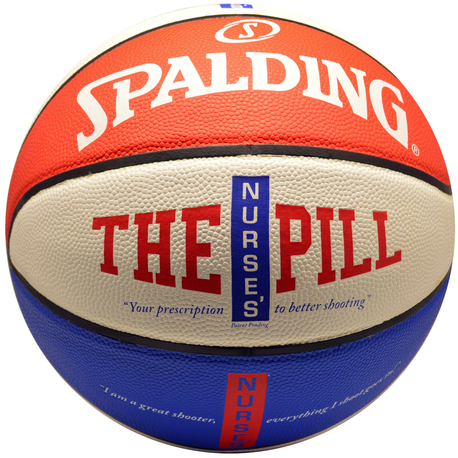 NEW SPALDING THE PILL BASKETBALL 29.5