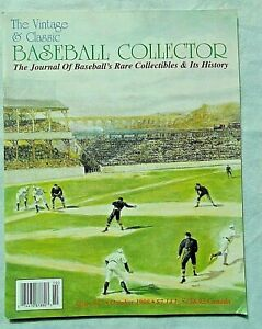 The-Vintage-amp-Classic-Baseball-Collector-Magazine-VCBC-17-October-1998