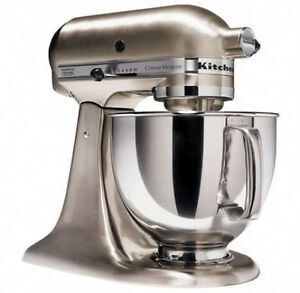 Kitchenaid Rk150nk All Brushed Metal Nickel Tilt Artisan