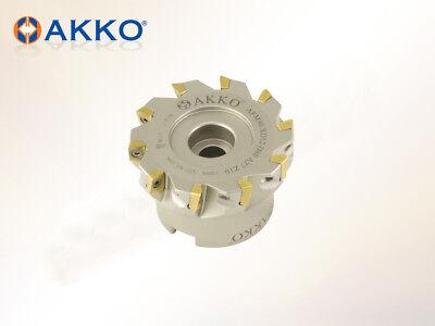Planfräser 90°  für Wendeplatten Typ XO..1204  D=80mm