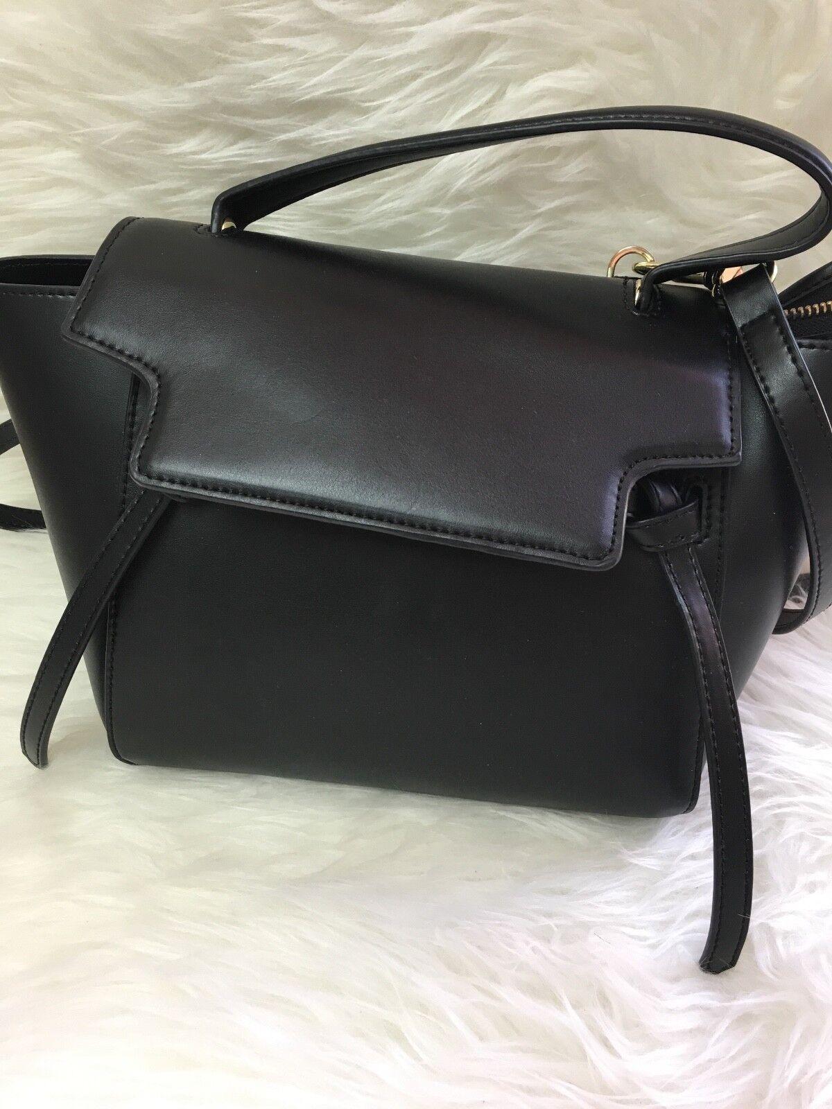 711e2c8fb0901 Handtasche Echtleder schwarz schwarz schwarz von Lush
