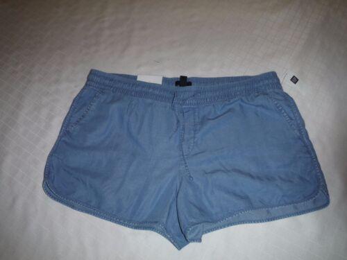 Gap Women/'s mini Shorts size 16 Blue Floral linen Light Indigo 100/% lyocell
