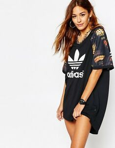 8aa10901046 ADIDAS ORIGINALS x RITA ORA TRAPEZE Cut Out Dress AJ7300 Artistic ...