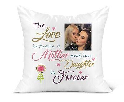 Personalised Photo Cushion//Remembrance//Keepsake//Mum//Dad//Wings//Grandad//Nan//Family