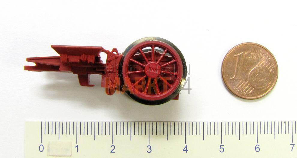 Ersatz-Nachlaufgestell mit Radsatz z.B. für ROCO Dampflok BR 01.10 Spur H0 - NEU