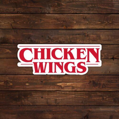 Chicken Wings Logo Decal//Sticker