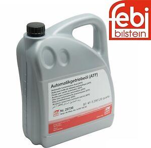 5 Liters ATF1 Automatic Transmission Oil Fluid Febi ATF ESSO LT 71141 For BMW