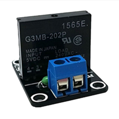 5V 1-Channel Low Level Trigger Solid State Relay Module with Resistive Fuse