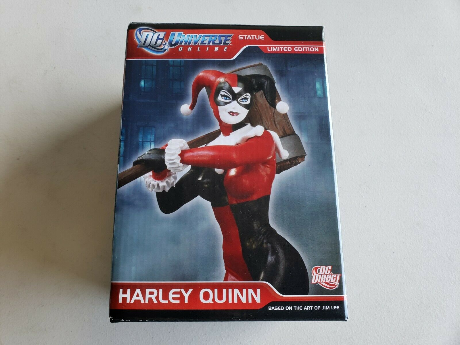 DC Universe Online Harley Quinn Statue nuovo & MIB  1512 5000 DC Collectibles