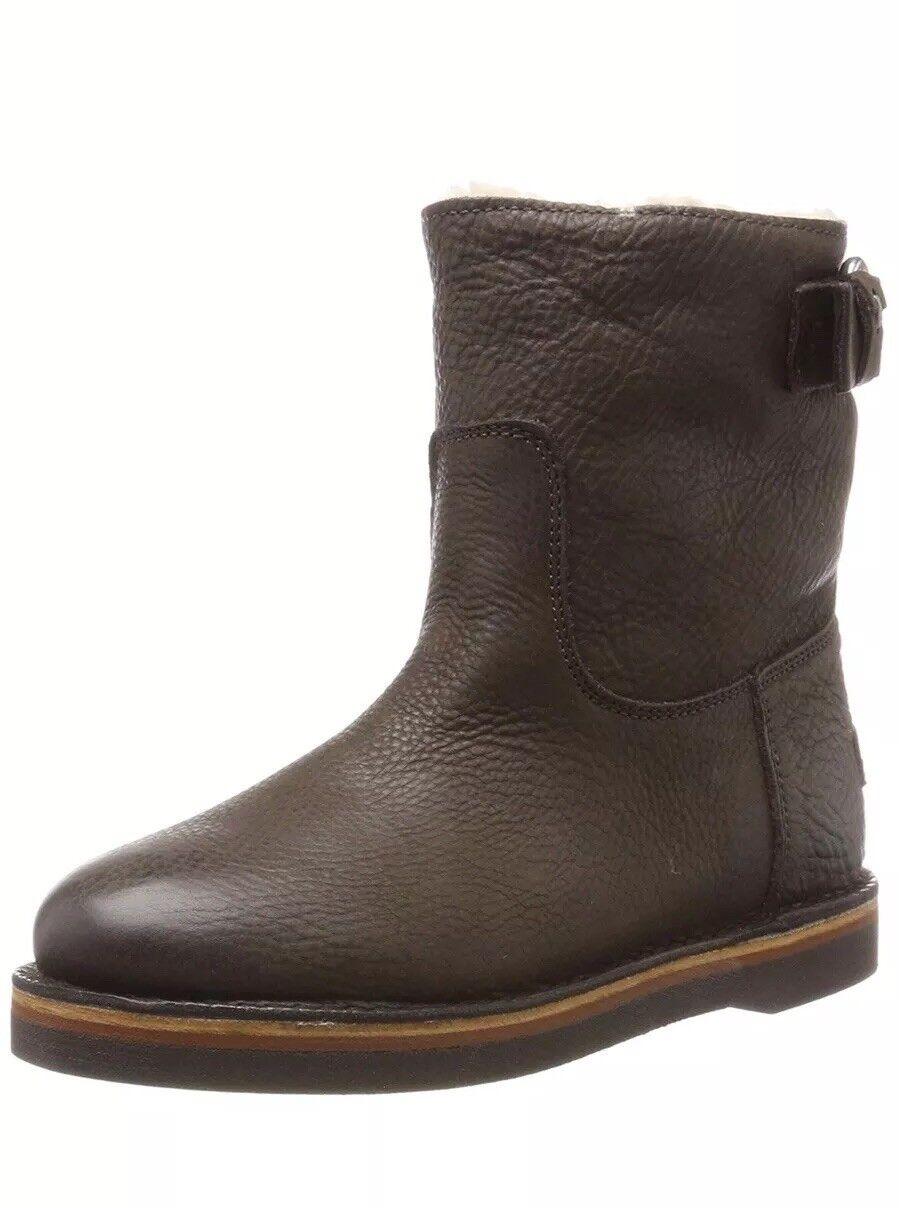 Shabbies Amsterdam, Women's Boots  Dark Brown 181020054 UK 6.5 EU 40