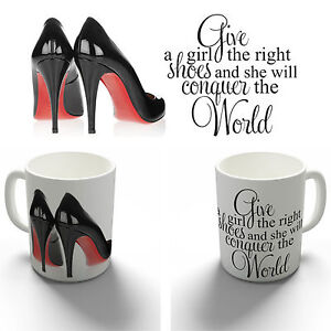 Image Is Loading The Right Shoes Marilyn Monroe Quote Coffee Mug