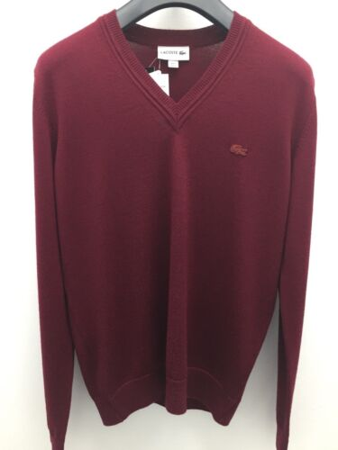 Wool V Sweater Neck Men's Jersey Lacoste w8Ratqn1