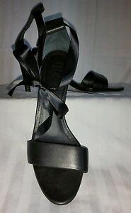 York 3 New Black 5 Italia Sz 37 pulgadas Tibi Heels cuero 5pqnw844