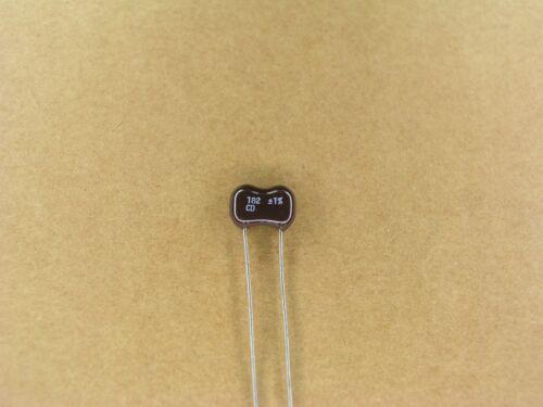 5 Pc Lot 1 /% silver mica capacitor S01029-039 182 pf 500 volt 500V