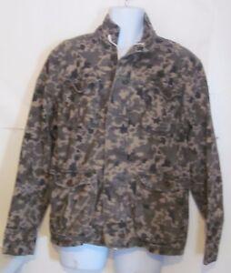5fc11683d4d49 Image is loading Jordan-Craig-mens-size-Large-Jacket-Camo-camouflage-