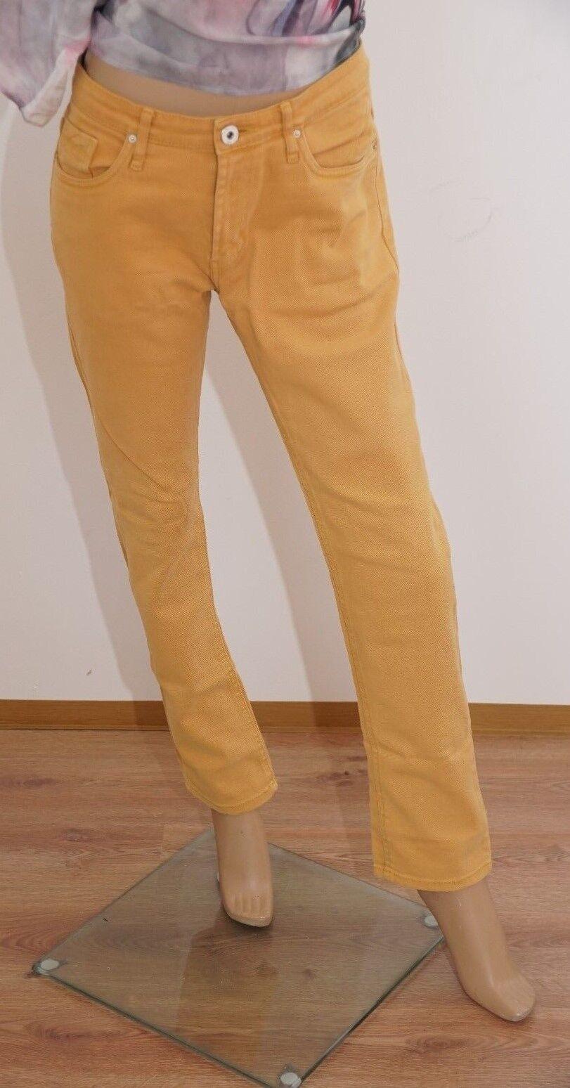 Fishbone Hose Damen gelb Damenhose L (1703A-BR-OH#) 09/2021