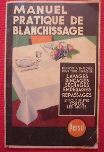 Manuel-pratique-de-blanchissage-Plaquette-publicitaire-de-la-lessive-Persil