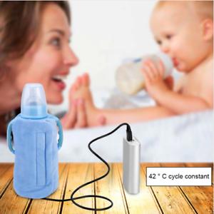 Chauffe-Biberon-Portable-Portatif-Chargeur-USB-Randonnee-Voyage-Voiture-Batterie