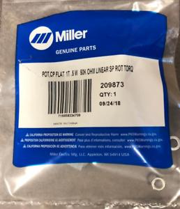 Miller 209873 POT,CP FLAT 1T .5 W 50K OHM LINEAR SP RO