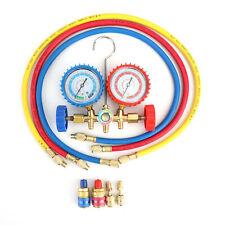 R410a R22 Manifold Gauge Set Ac Ac Color Hose Air Conditioner Hvac 33 H2